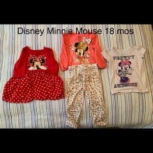 Toddler Girl Minnie Mouse Clothes